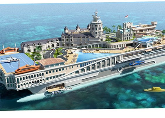 Yacht Island Design Concepts | Themed Yacht Creators | Luxury Super Yacht Designers