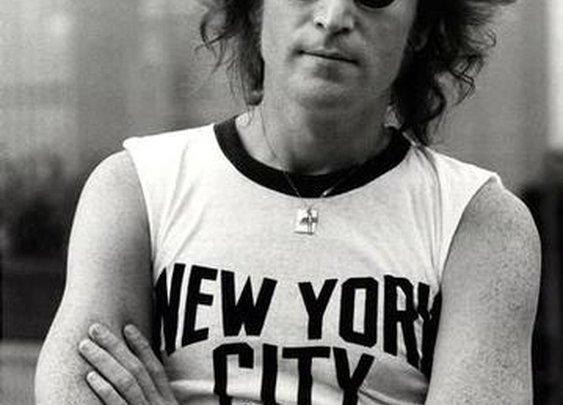 Lennon in NY
