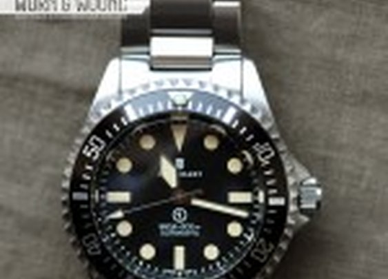 Review: Steinhart Ocean Vintage Military | watch reviews on worn&wound