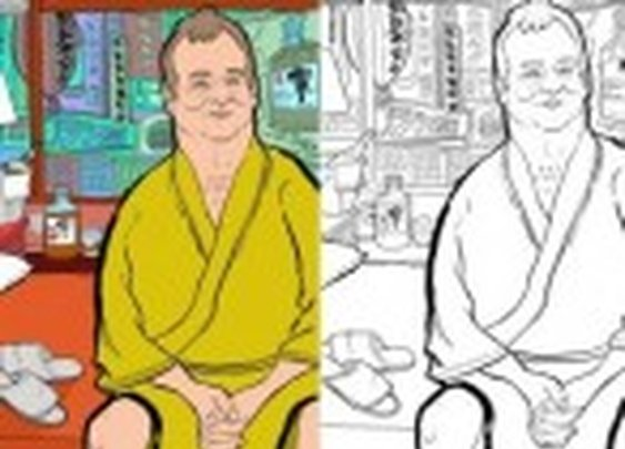 Please Color All Over Bill Murray | Splitsider