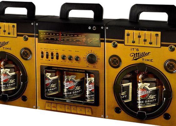 Miller Boom Box - The Dieline - The #1 Package Design Website -