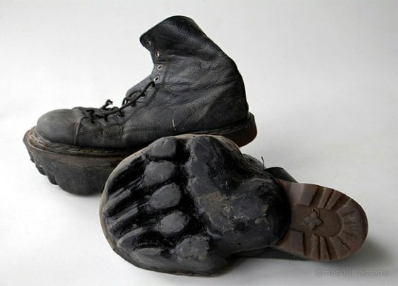 Animal Footprint Shoes: Confuse Hunters With Style!
