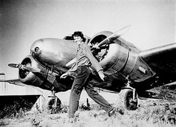 Robots to join hunt for Earhart's plane