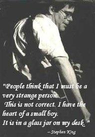 Stephen King.. my favourite writer