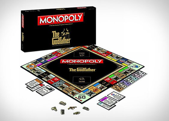 Monopoly: The Godfather Edition | Uncrate