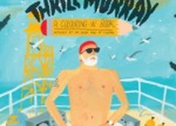 Thrill Murray, A Bill Murray Coloring Book