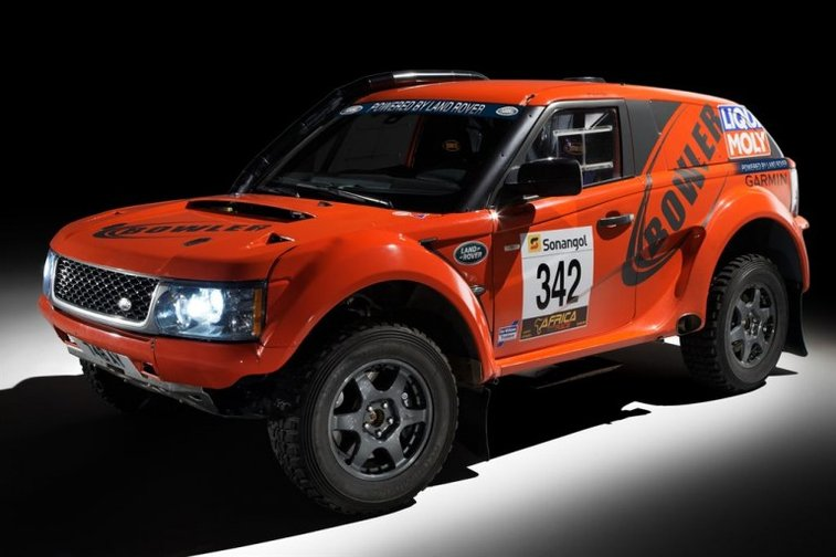 The EXR uses a 300-bhp, naturally aspirated Range Rover Sport 5.0-liter V-8
