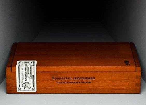 Masculine Stationery - Letterpress Correspondence System | Forgetful Gentleman