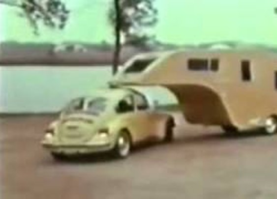1974 vw 360 camping trailer, unbelievable!      - YouTube