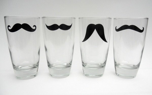 Moustache Glasses