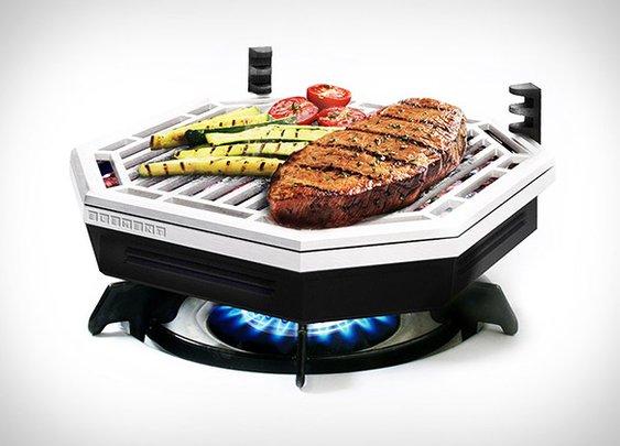 Element Indoor Smokeless BBQ | Uncrate
