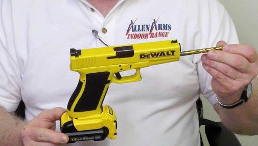 Glock DeWalt Drill Gun