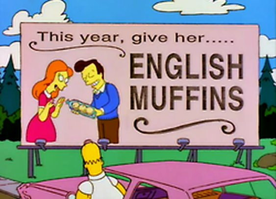 This Year, Give Her English Muffins
