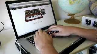 ROBERT MOOG GOTYE GOOGLE DOODLE! - Songs on Synth #14      - YouTube