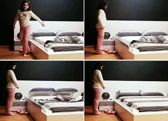 Meet the Bed That Makes Itself - Brit & Co. - Living