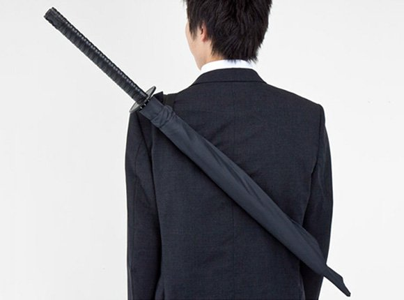 Ninja Umbrella - Full-Size