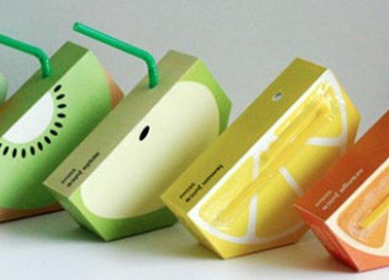 Jooze Fruit Juice Packaging By Yunyeen Yang