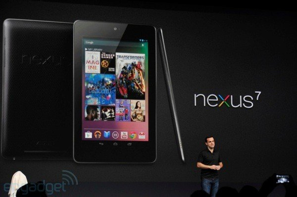 Google Makes the Nexus 7 Tablet Official