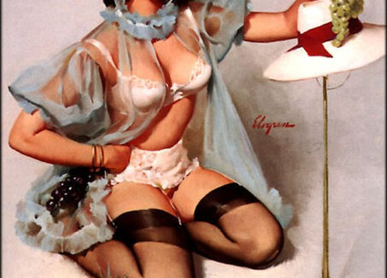 My Top 10 Favourite Elvgen Pin-up Portraits. CountDown from Becky K.