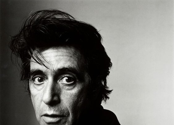 Al Pacino by Irving Penn
