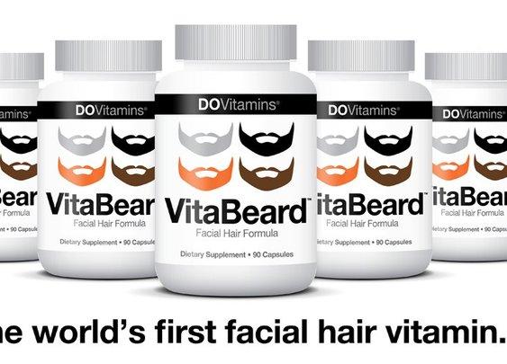 VitaBeard™ - Facial Hair Growth Supplement Beard Vitamins