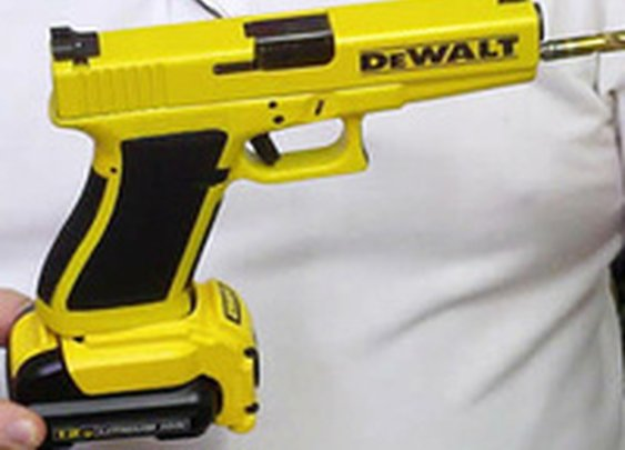 This Glock Drill Is the Easiest Way To Make Holes In Anything