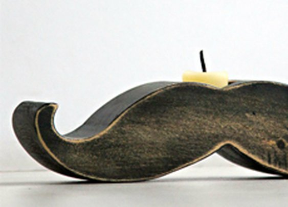 Mustache Candle Holder | Cool Material