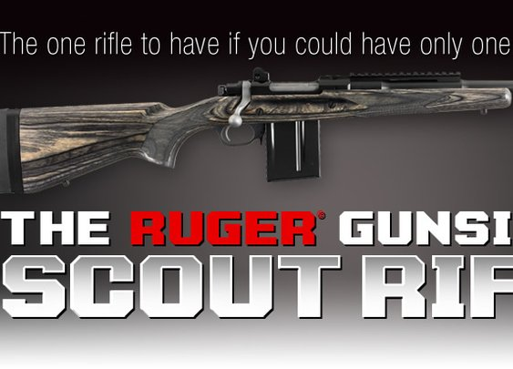 Ruger® Gunsite Scout Rifle