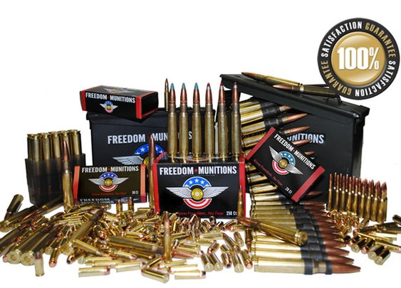 Ammunition Online at Factory Direct Prices | Freedom Munitions