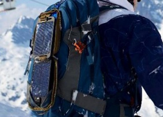 Solarmonkey Adventurer rugged, self-contained solar charger with internal storage