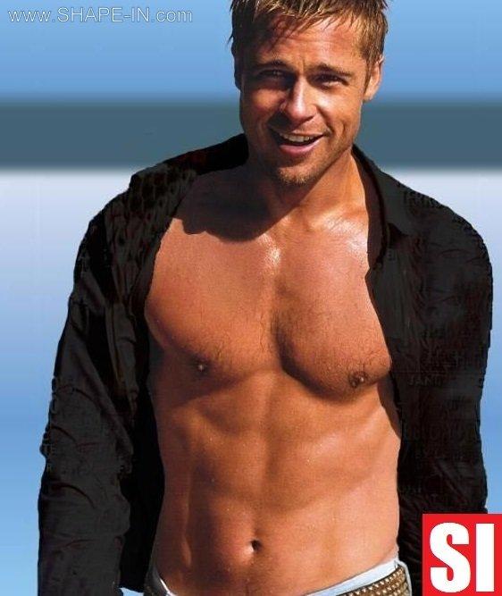 Brad Pitt Diet Plan | SHAPE IN