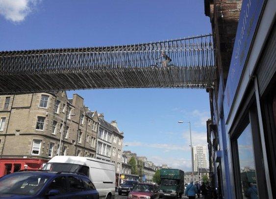 Leith Walk 'Green Bridge' / biomorphis Leith Walk 'Green Bridge' (5) – ArchDaily