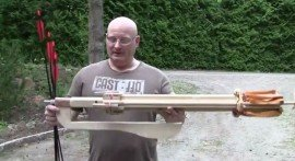Slingshot Channel Guy Creates Crossbow Revolver   Video   TheBlaze.com