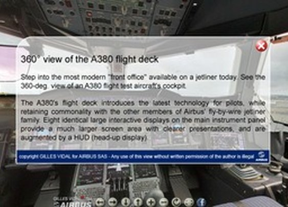 Airbus A380 - cockpit | p a n o r e p o r t a g e   |   g i l l e s v i d a l - StumbleUpon