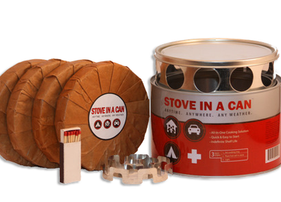 Stove In A Can - The Ultimate Emergency Cooking Solution