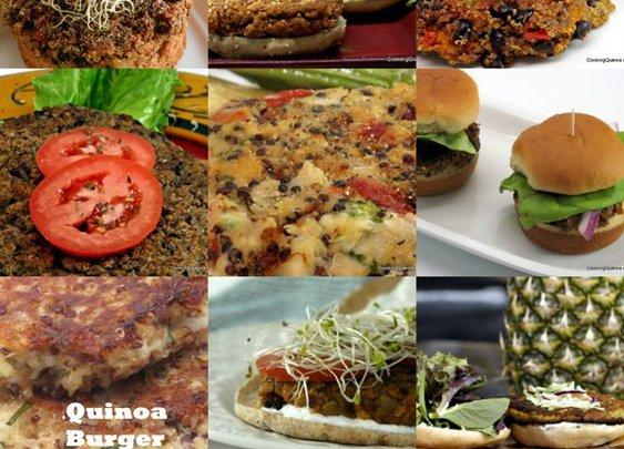 Quinoa Burger Roundup