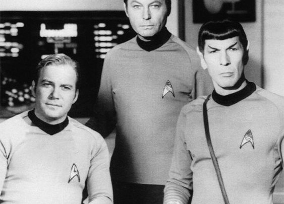 Classic Star Trek: Kirk, Bones, and Spock