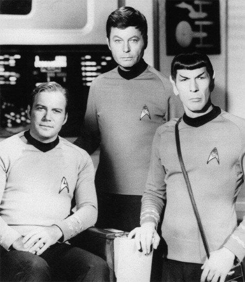Classic Star Trek: Kirk, Bones, and Spock