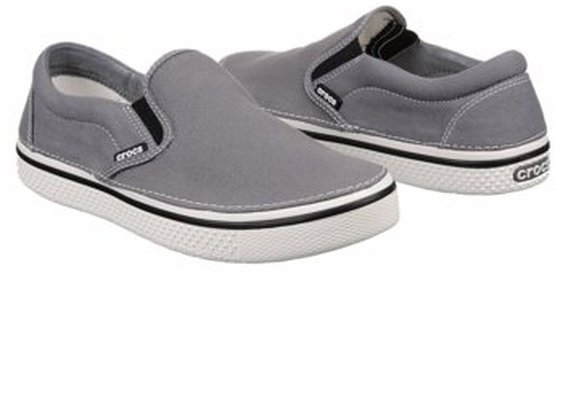 Men's Crocs  Hover Charcoal/White FamousFootwear.com