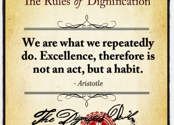 The Rules of Dignification  - Seventy