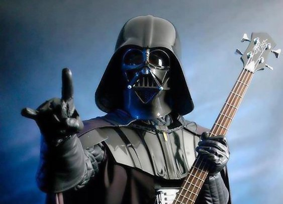 Darth Vader Has Found the Rebel Bass