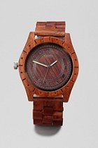 UrbanOutfitters.com > Flud Big Ben Wood Watch