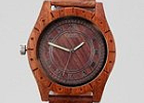 UrbanOutfitters.com > Flud Big Ben Wood Watch