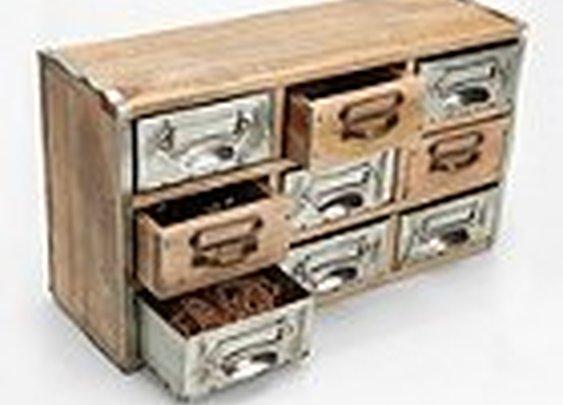 UrbanOutfitters.com > Reclaimed Card Catalog Organizer Cabinet