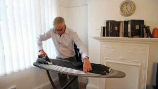 How to Press Trousers      - YouTube