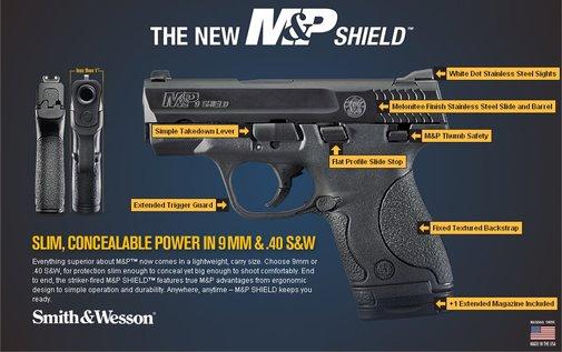 M&P Shield 40