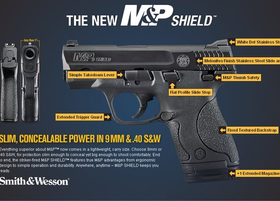 M&P Shield 40