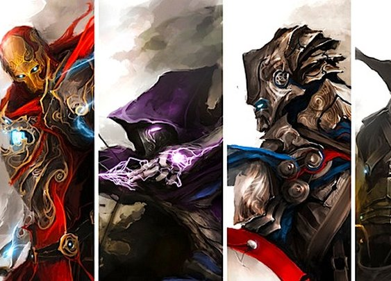 The Avengers get the Dungeons and Dragons treatment (8 pics)