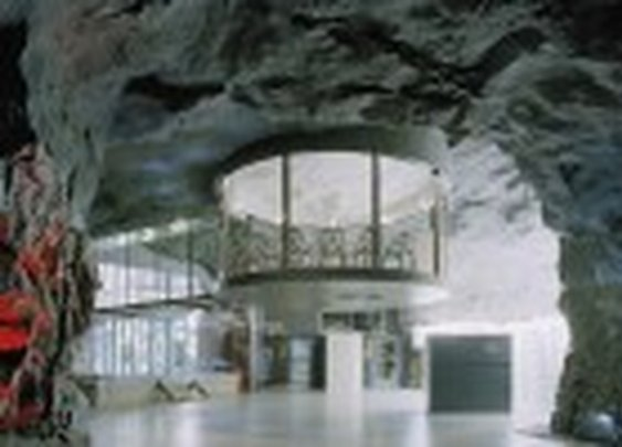 Subterranean Anti-Atomic Shelter Transformed into a Cool and Cavernous Internet Provider Facility