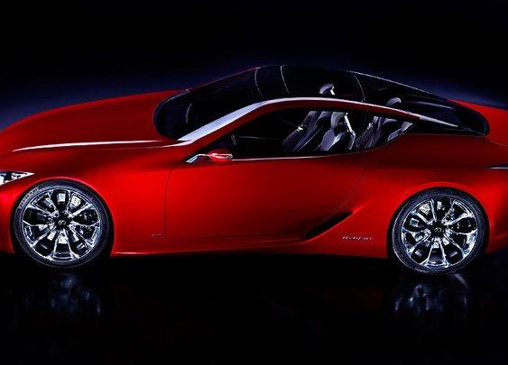 Lexus LF-LC Concept Car: 2012 Detroit Auto Show Concept Vehicles